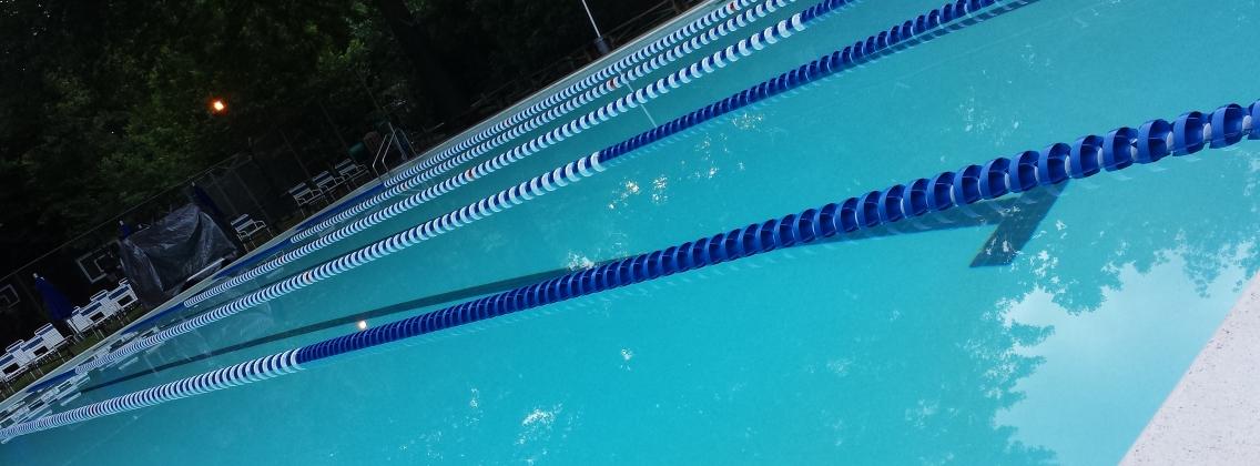 pool angle